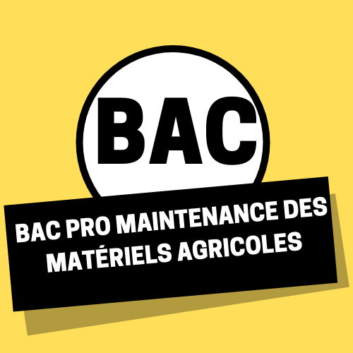 Bac Pro Maintenance des matériels agricoles