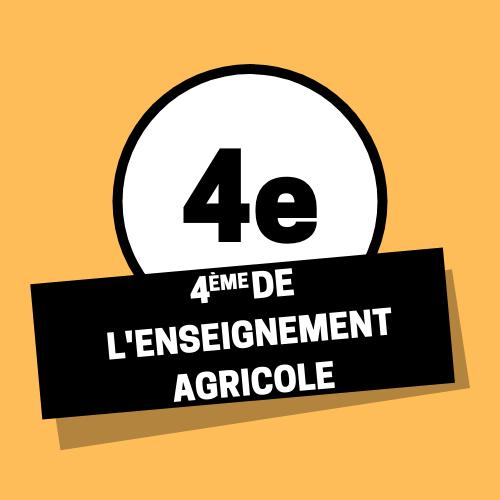 4eme enseignement agricole