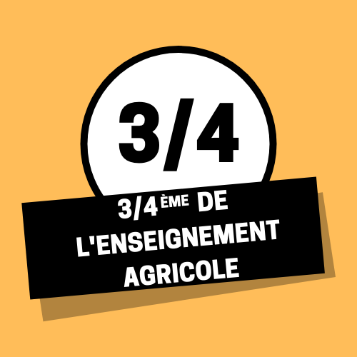 3/4eme enseignement agricole