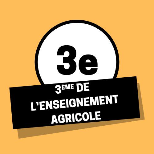 3eme enseignement agricole